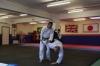 Sensei Fred Mills at Pinner Aikido Club