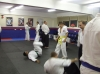 Senseis S.Lacey and S.Greenstreet at Pinner Aikido Club