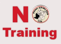 No Training on Thursday 28th March