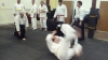 Brian Horsler and Dave Salmon at Pinner Aikido Club - March 21st 2013