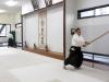 Nishi at Hombu Dojo in Tokyo