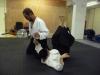 Sensei Mizuhiko Megata at Pinner Aikido Club London