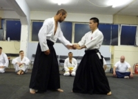 Sensei Mizuhiko Megata at Pinner Aikido Club London - Gallery